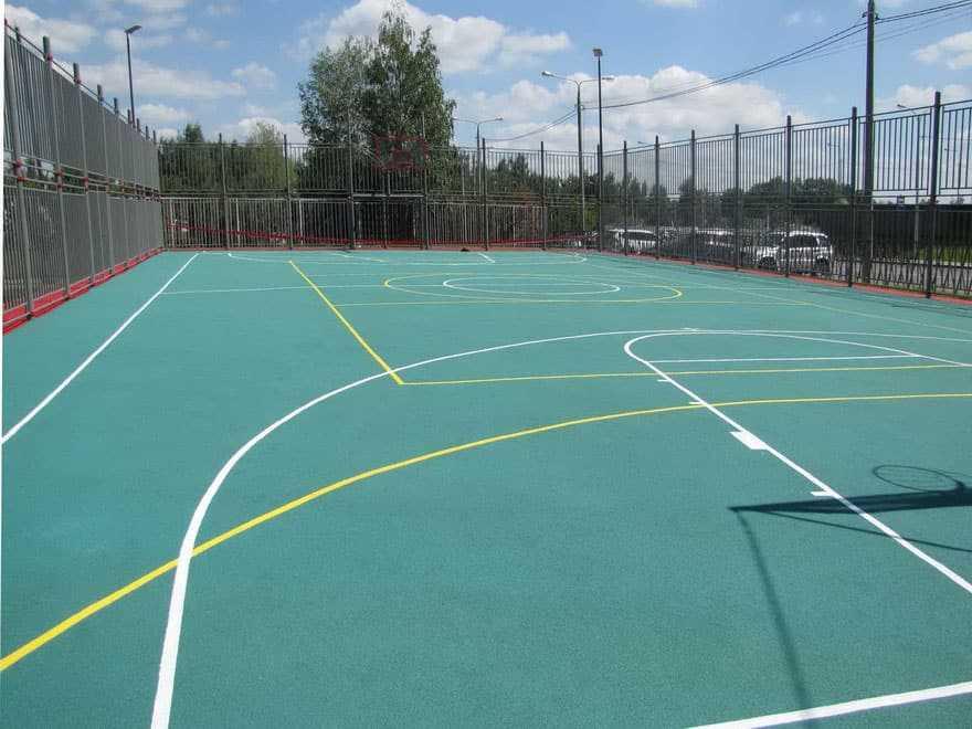 Покрытие для баскетбольной площадки от 730 ₽/м2