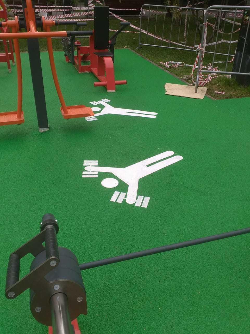 Резиновое покрытие для спортивных площадок от 730 ₽/м2