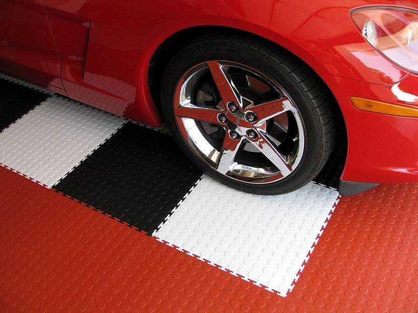 резиновое покрытие для парковки
