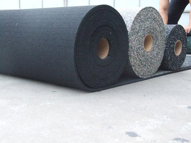 резиновое рулонное покрытие для фитнес зала