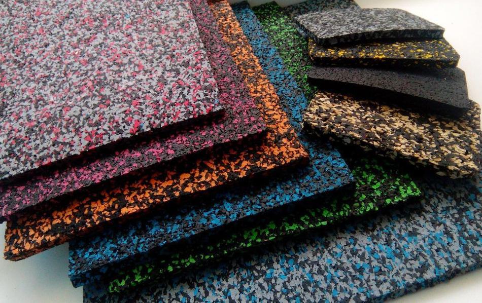 цветные каучуковые покрытия